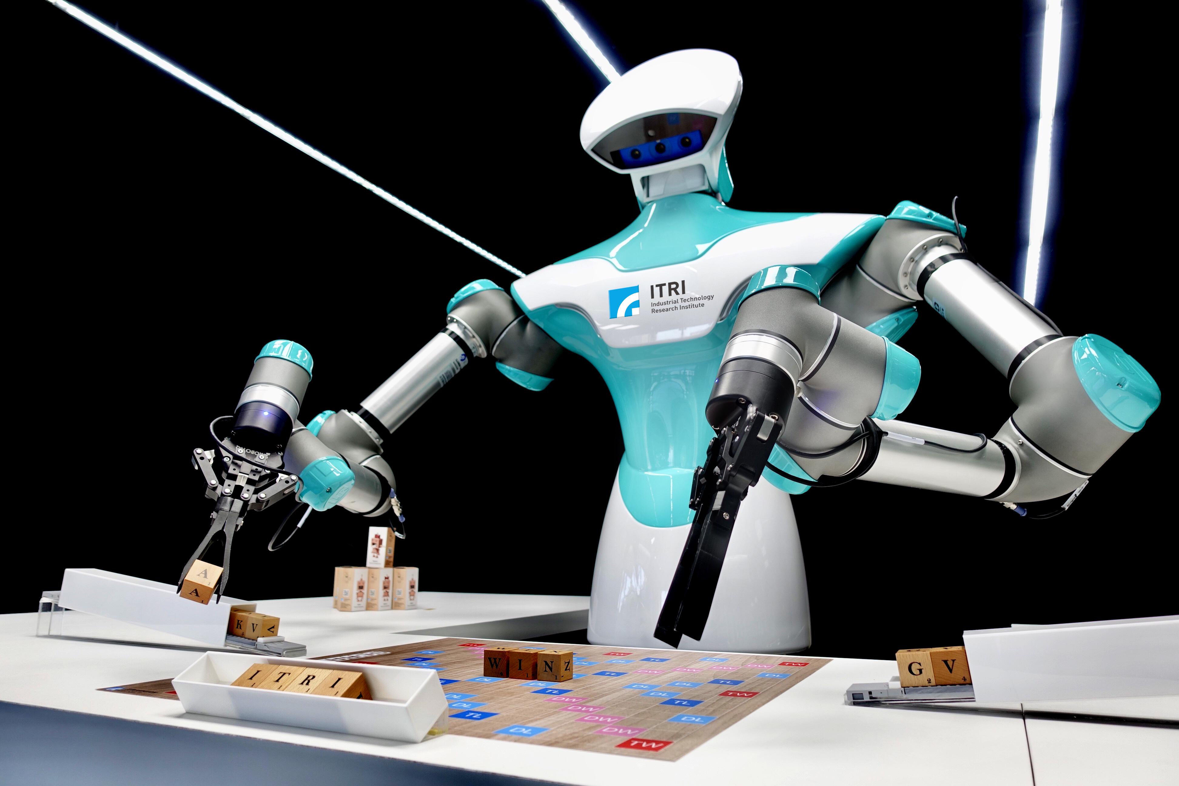 CES看ITRI四大亮點-智慧視覺系統機器人 2D、3D都在行