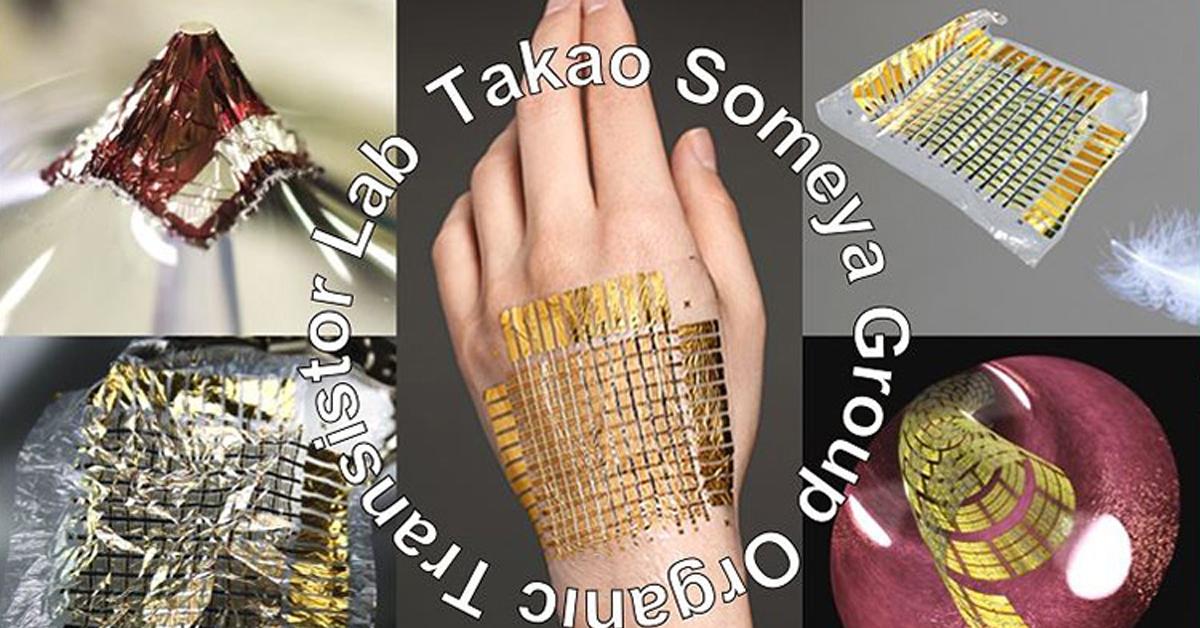 突破性的發明─電子皮膚