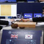 Google 人工智慧 AlphaGo 對戰南韓棋王李世石第一盤:電腦勝