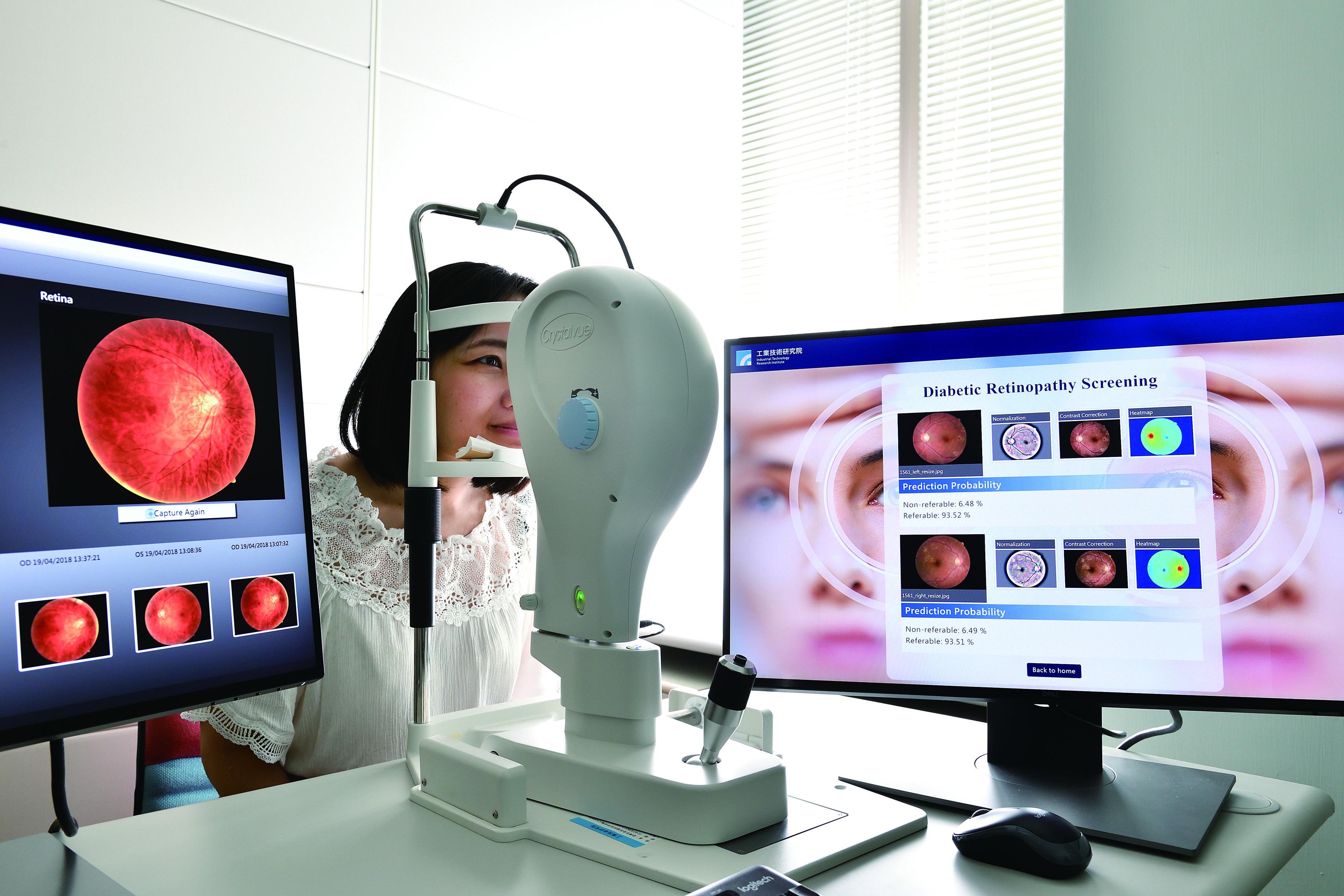 AI也可以挑病眼 精準偵測糖尿病視網膜病變